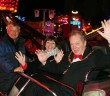 Former Mayor Geoff Settle enjoying the rides at last year's event