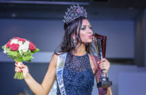 Natasha Hemmings  winning Miss England  Photo by  Simon Giddings  of Prime Photography