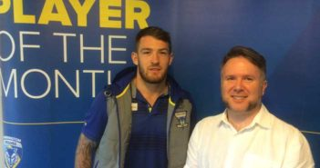 Daryl Clark with Curtis Jobling