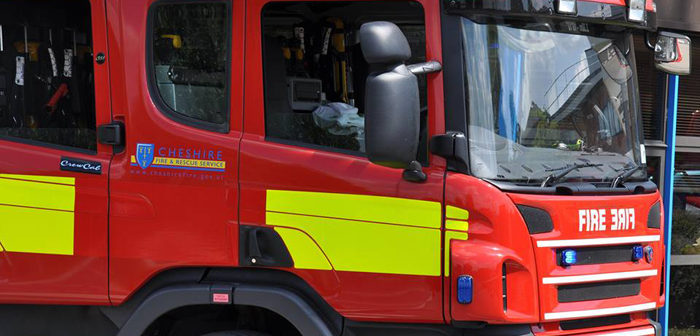 Casualty taken to hospital after fire