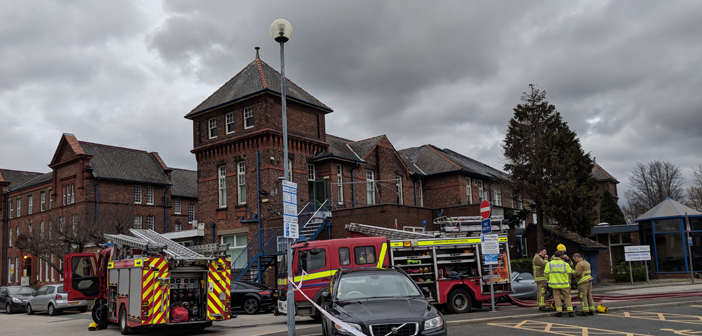 Electrical fault believed to have started hospital blaze